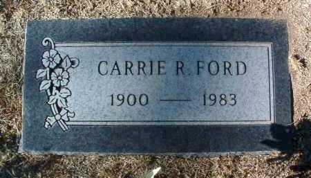FORD, CARRIE ROWENA - Yavapai County, Arizona | CARRIE ROWENA FORD - Arizona Gravestone Photos