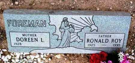 FOREMAN, RONALD ROY - Yavapai County, Arizona | RONALD ROY FOREMAN - Arizona Gravestone Photos