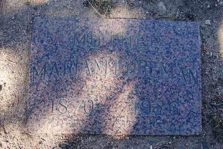 FOREMAN, MARIAM - Yavapai County, Arizona   MARIAM FOREMAN - Arizona Gravestone Photos