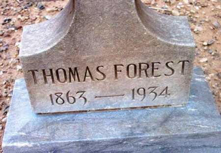 FOREST, THOMAS - Yavapai County, Arizona | THOMAS FOREST - Arizona Gravestone Photos
