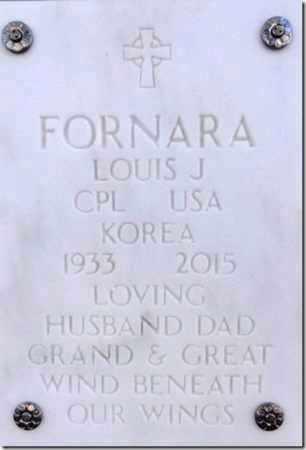 FORNARA, LOUIS JOHN - Yavapai County, Arizona   LOUIS JOHN FORNARA - Arizona Gravestone Photos