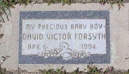 FORSYTH, DAVID VICTOR - Yavapai County, Arizona   DAVID VICTOR FORSYTH - Arizona Gravestone Photos