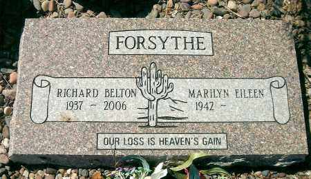 FORSYTHE, RICHARD BELTON - Yavapai County, Arizona | RICHARD BELTON FORSYTHE - Arizona Gravestone Photos
