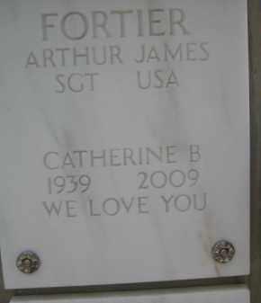 FORTIER, CATHERINE B - Yavapai County, Arizona | CATHERINE B FORTIER - Arizona Gravestone Photos