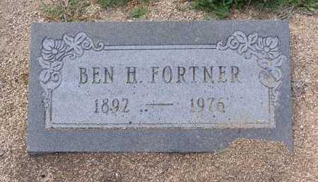 FORTNER, BENJAMIN HARRISON - Yavapai County, Arizona | BENJAMIN HARRISON FORTNER - Arizona Gravestone Photos