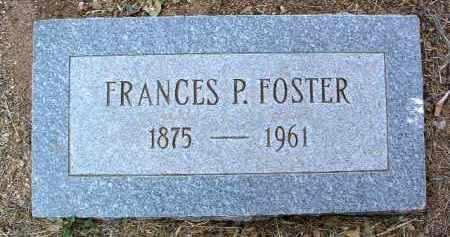 WHEELER FOSTER, F. P. - Yavapai County, Arizona | F. P. WHEELER FOSTER - Arizona Gravestone Photos