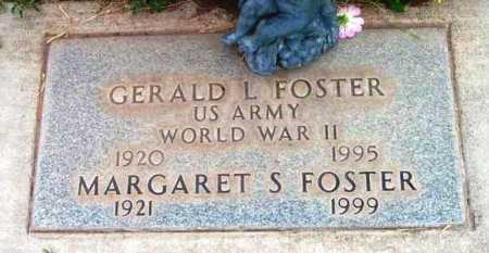 FOSTER, GERALD L. - Yavapai County, Arizona | GERALD L. FOSTER - Arizona Gravestone Photos