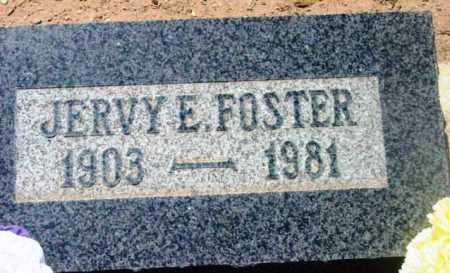 FOSTER, JERVY E. - Yavapai County, Arizona   JERVY E. FOSTER - Arizona Gravestone Photos