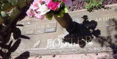 FOSTER, OTTALIE A. - Yavapai County, Arizona | OTTALIE A. FOSTER - Arizona Gravestone Photos