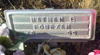 FOURZAN, NATHAN E. - Yavapai County, Arizona   NATHAN E. FOURZAN - Arizona Gravestone Photos