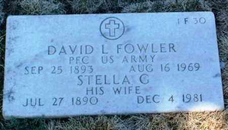 FOWLER, DAVID LARIMORE - Yavapai County, Arizona | DAVID LARIMORE FOWLER - Arizona Gravestone Photos