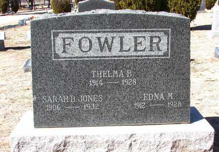 FOWLER, EDNA M. - Yavapai County, Arizona | EDNA M. FOWLER - Arizona Gravestone Photos