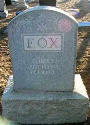 FOX, ELDEN FREY - Yavapai County, Arizona | ELDEN FREY FOX - Arizona Gravestone Photos