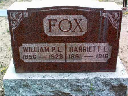 FOX, HARRIET LUCINDA - Yavapai County, Arizona | HARRIET LUCINDA FOX - Arizona Gravestone Photos