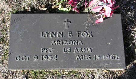 FOX, LYNN EUGENE - Yavapai County, Arizona   LYNN EUGENE FOX - Arizona Gravestone Photos