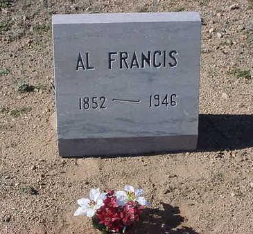 FRANCIS, AL - Yavapai County, Arizona | AL FRANCIS - Arizona Gravestone Photos