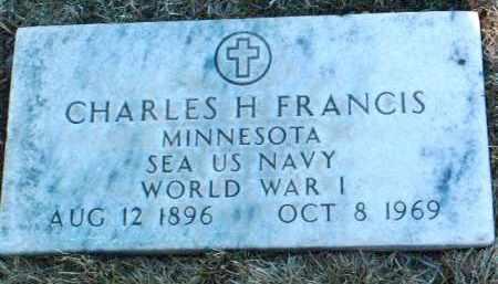 FRANCIS, CHARLES HAROLD - Yavapai County, Arizona   CHARLES HAROLD FRANCIS - Arizona Gravestone Photos