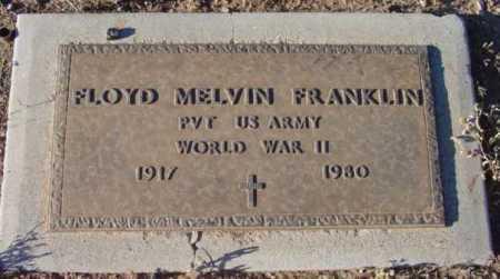 FRANKLIN, FLOYD MELVIN - Yavapai County, Arizona | FLOYD MELVIN FRANKLIN - Arizona Gravestone Photos