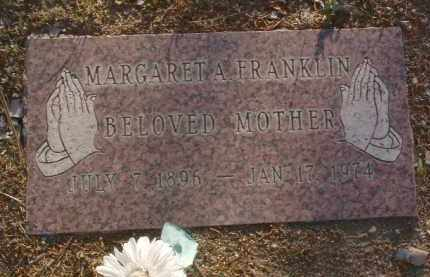 FRANKLIN, MARGARET ANN - Yavapai County, Arizona | MARGARET ANN FRANKLIN - Arizona Gravestone Photos