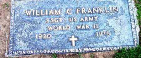 FRANKLIN, WILLIAM C. - Yavapai County, Arizona   WILLIAM C. FRANKLIN - Arizona Gravestone Photos