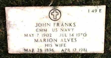 FRANKS, MARION HELEN - Yavapai County, Arizona | MARION HELEN FRANKS - Arizona Gravestone Photos