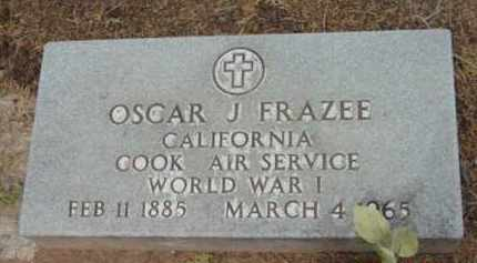 FRAZEE, OSCAR J. - Yavapai County, Arizona   OSCAR J. FRAZEE - Arizona Gravestone Photos