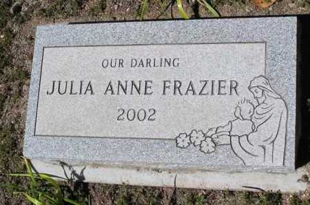 FRAZIER, JULIA ANNE - Yavapai County, Arizona | JULIA ANNE FRAZIER - Arizona Gravestone Photos