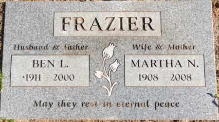 EHRHARDT FRAZIER, MARTHA N. - Yavapai County, Arizona   MARTHA N. EHRHARDT FRAZIER - Arizona Gravestone Photos