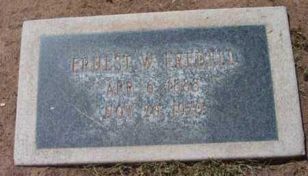 FREDELL, ERNEST WILBUR - Yavapai County, Arizona   ERNEST WILBUR FREDELL - Arizona Gravestone Photos