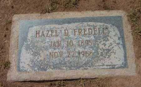 FREDELL, HAZEL DELL - Yavapai County, Arizona | HAZEL DELL FREDELL - Arizona Gravestone Photos
