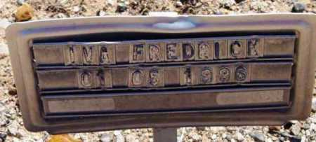FREDRICK, IVA - Yavapai County, Arizona | IVA FREDRICK - Arizona Gravestone Photos
