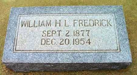 FREDRICK, WILLIAM HENRY LYTLE - Yavapai County, Arizona | WILLIAM HENRY LYTLE FREDRICK - Arizona Gravestone Photos