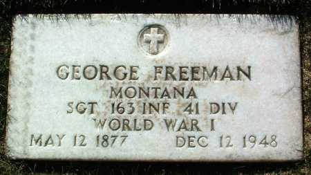 FREEMAN, GEORGE - Yavapai County, Arizona | GEORGE FREEMAN - Arizona Gravestone Photos