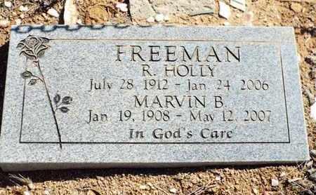 FREEMAN, MARVIN BRUCE - Yavapai County, Arizona | MARVIN BRUCE FREEMAN - Arizona Gravestone Photos