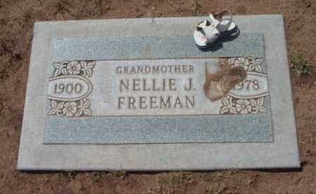 HARRELL FREEMAN, NELLIE JANE - Yavapai County, Arizona | NELLIE JANE HARRELL FREEMAN - Arizona Gravestone Photos