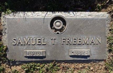 FREEMAN, SAMUEL THOMAS - Yavapai County, Arizona | SAMUEL THOMAS FREEMAN - Arizona Gravestone Photos