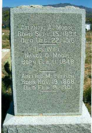 MOORE FRENCH, ADDELINE - Yavapai County, Arizona   ADDELINE MOORE FRENCH - Arizona Gravestone Photos