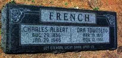 FRENCH, CHARLES ALBERT - Yavapai County, Arizona | CHARLES ALBERT FRENCH - Arizona Gravestone Photos
