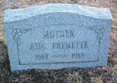 FRENETTE, ADA M. - Yavapai County, Arizona   ADA M. FRENETTE - Arizona Gravestone Photos