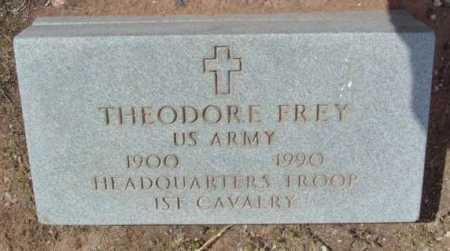 FREY, THEODORE - Yavapai County, Arizona | THEODORE FREY - Arizona Gravestone Photos
