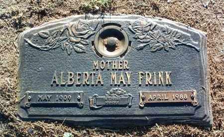 WETZLER FRINK, ALBERTA MAY - Yavapai County, Arizona   ALBERTA MAY WETZLER FRINK - Arizona Gravestone Photos
