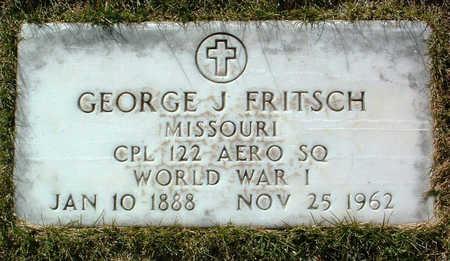 FRITSCH, GEORGE J. - Yavapai County, Arizona | GEORGE J. FRITSCH - Arizona Gravestone Photos