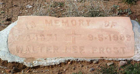 FROST, WALTER LEE - Yavapai County, Arizona | WALTER LEE FROST - Arizona Gravestone Photos