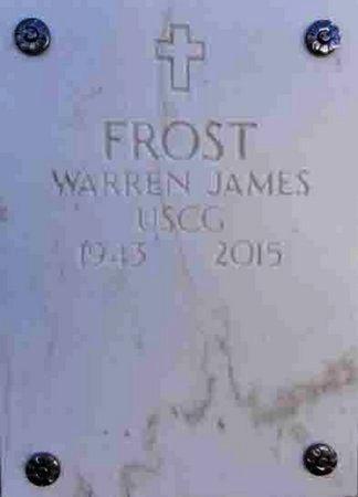 FROST, WARREN JAMES - Yavapai County, Arizona | WARREN JAMES FROST - Arizona Gravestone Photos