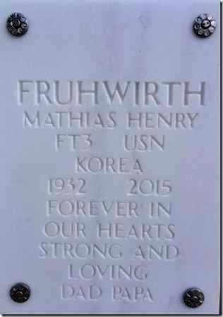 FRUHWIRTH, MATHIAS HENRY - Yavapai County, Arizona | MATHIAS HENRY FRUHWIRTH - Arizona Gravestone Photos