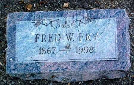 FRY, FRED W. - Yavapai County, Arizona | FRED W. FRY - Arizona Gravestone Photos