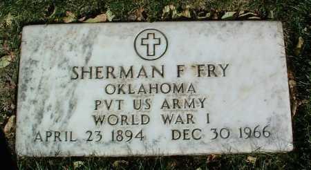 FRY, SHERMAN F. - Yavapai County, Arizona   SHERMAN F. FRY - Arizona Gravestone Photos