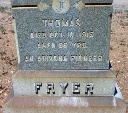 FRYER, THOMAS - Yavapai County, Arizona | THOMAS FRYER - Arizona Gravestone Photos