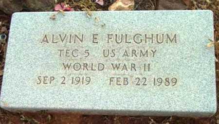 FULGHUM, ALVIN ELWOOD - Yavapai County, Arizona | ALVIN ELWOOD FULGHUM - Arizona Gravestone Photos