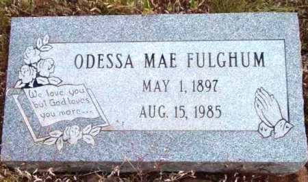 HILL FULGHUM, ODESSA MAE - Yavapai County, Arizona | ODESSA MAE HILL FULGHUM - Arizona Gravestone Photos